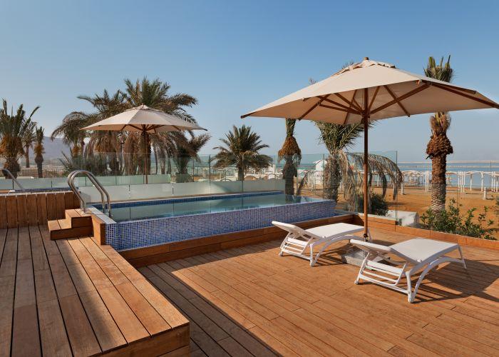 premium with pool - sea view, Milos, Мертвое море, Израиль
